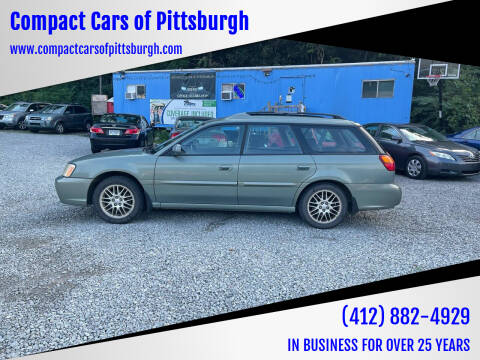 2004 Subaru Legacy for sale at Compact Cars of Pittsburgh in Pittsburgh PA