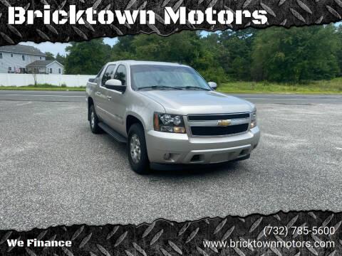 2007 Chevrolet Avalanche for sale at Bricktown Motors in Brick NJ