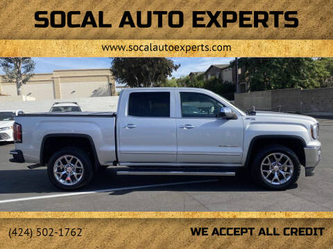 2016 GMC Sierra 1500 for sale at SoCal Auto Experts in Culver City CA