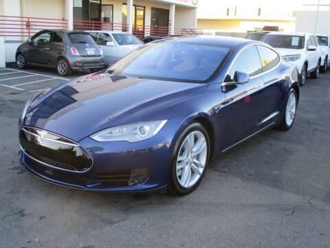 2015 Tesla Model S for sale at Convoy Motors LLC in National City CA