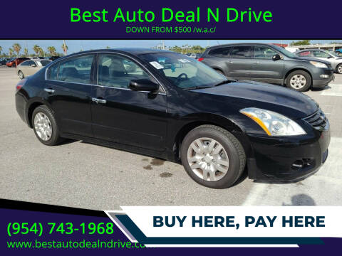 2011 Nissan Altima for sale at Best Auto Deal N Drive in Hollywood FL