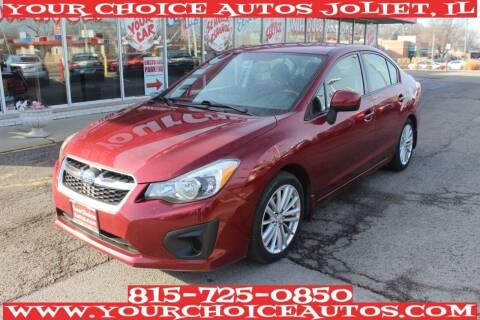 2014 Subaru Impreza for sale at Your Choice Autos - Joliet in Joliet IL