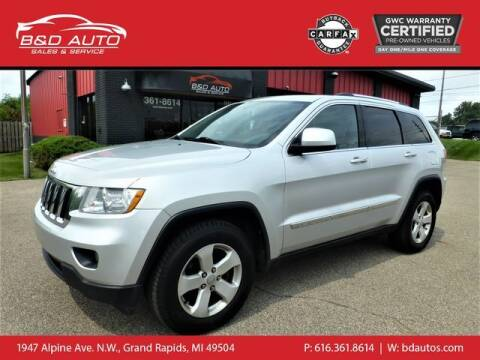 2013 Jeep Grand Cherokee for sale at B&D Auto Sales Inc in Grand Rapids MI