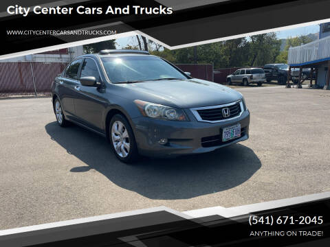 2008 Honda Accord for sale at City Center Cars and Trucks in Roseburg OR