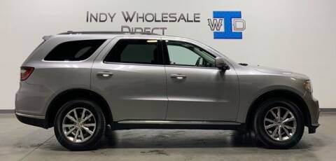2015 Dodge Durango for sale at Indy Wholesale Direct in Carmel IN