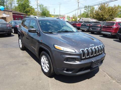 2018 Jeep Cherokee for sale at RS Motors in Falconer NY
