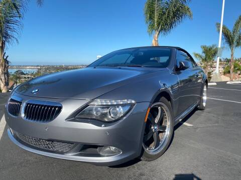 2008 BMW 6 Series for sale at Bozzuto Motors in San Diego CA