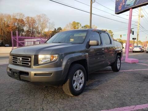 2007 Honda Ridgeline for sale at Fast and Friendly Auto Sales LLC in Decatur GA