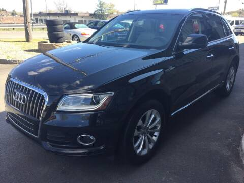 2015 Audi Q5 for sale at 222 Newbury Motors in Peabody MA