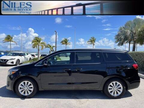 2018 Kia Sedona for sale at Niles Sales and Service in Key West FL