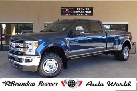 2019 Ford F-350 Super Duty for sale at Brandon Reeves Auto World in Monroe NC