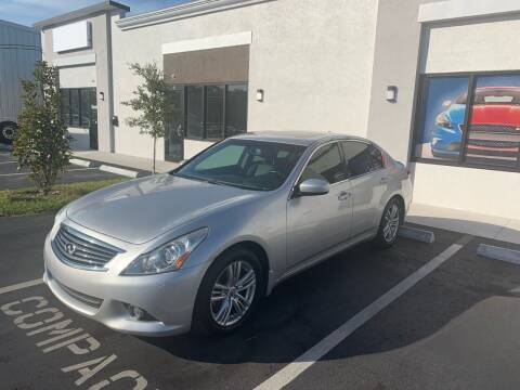 2012 Infiniti G37 Sedan for sale at Bay City Autosales in Tampa FL