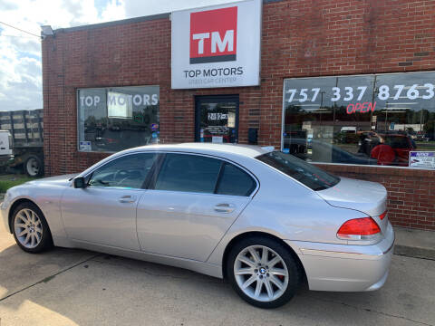 2003 BMW 7 Series for sale at Top Motors LLC in Portsmouth VA