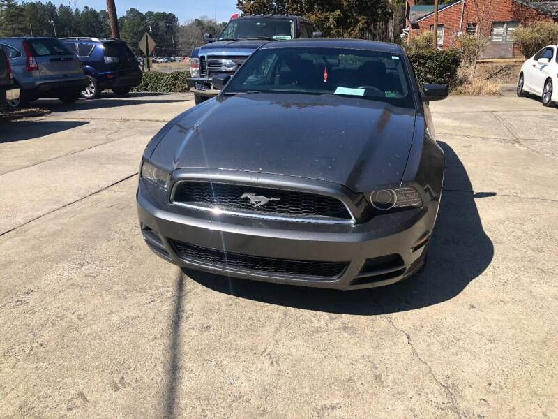 2013 Ford Mustang for sale at Moore's Motors in Durham NC