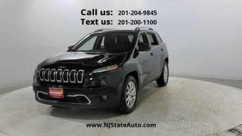 2015 Jeep Cherokee for sale at NJ State Auto Used Cars in Jersey City NJ