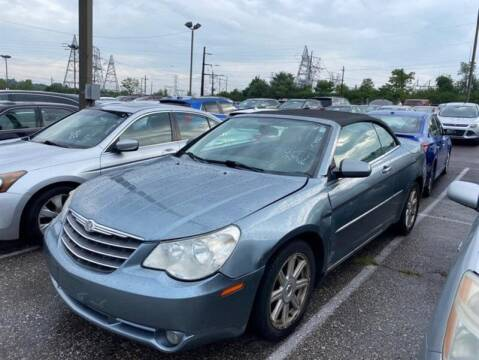2008 Chrysler Sebring for sale at Jeffrey's Auto World Llc in Rockledge PA