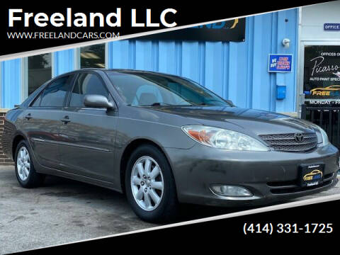 2004 Toyota Camry for sale at Freeland LLC in Waukesha WI