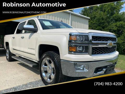 2014 Chevrolet Silverado 1500 for sale at Robinson Automotive in Albemarle NC