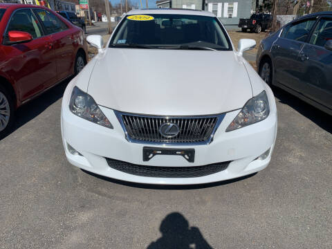 2009 Lexus IS 250 for sale at King Auto Sales in Leominster MA