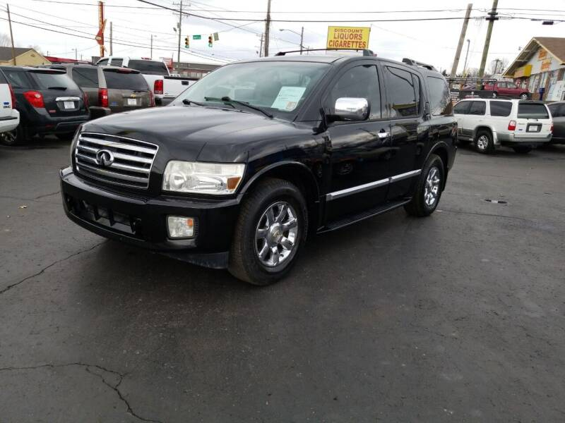 2007 Infiniti QX56 for sale at Rucker's Auto Sales Inc. in Nashville TN