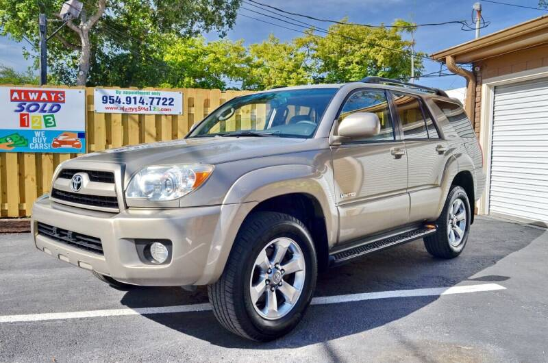2006 Toyota 4Runner for sale at ALWAYSSOLD123 INC in Fort Lauderdale FL