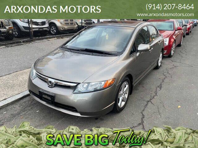 2006 Honda Civic for sale at ARXONDAS MOTORS in Yonkers NY