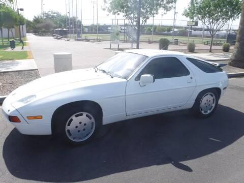 1989 Porsche 928 for sale at J & E Auto Sales in Phoenix AZ