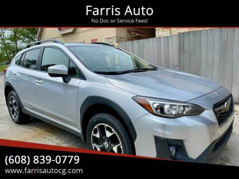2018 Subaru Crosstrek for sale at Farris Auto in Cottage Grove WI