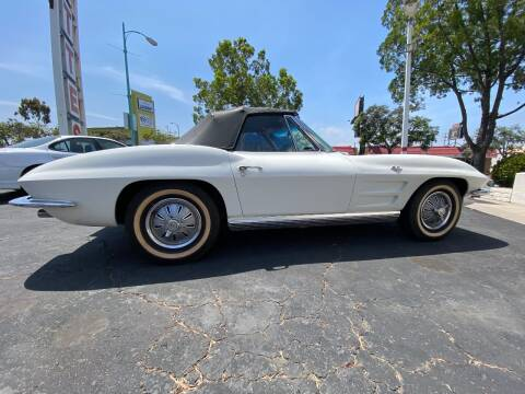 1964 Chevrolet Corvette for sale at Corvette Specialty by Dave Meyer in San Diego CA