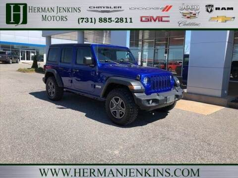 2019 Jeep Wrangler Unlimited for sale at Herman Jenkins Used Cars in Union City TN