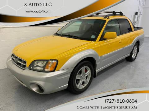 2003 Subaru Baja for sale at X Auto LLC in Pinellas Park FL