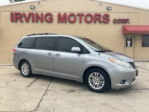 2014 Toyota Sienna for sale at Irving Motors Corp in San Antonio TX