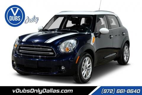 2015 MINI Countryman for sale at VDUBS ONLY in Dallas TX