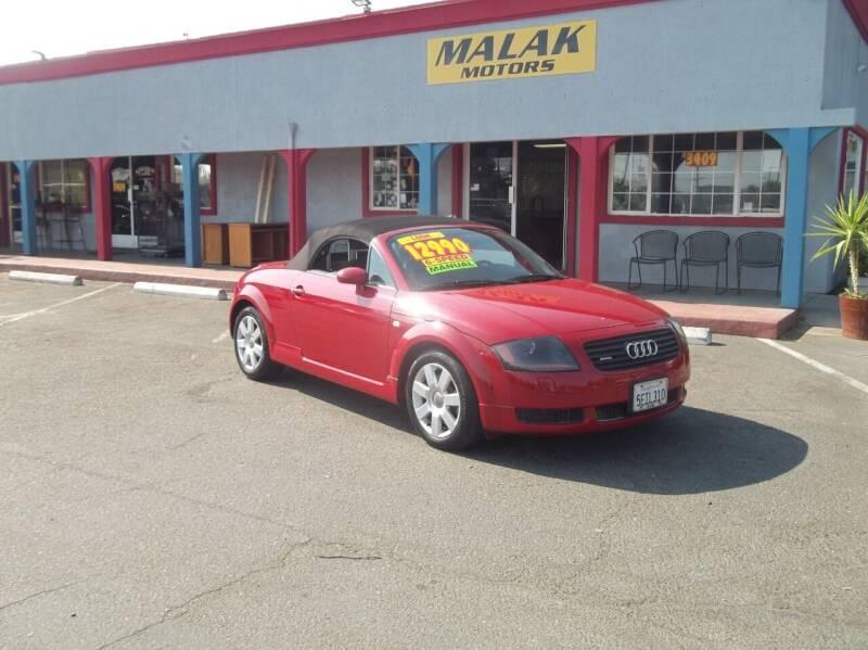 2001 Audi TT for sale at Atayas Motors INC #1 in Sacramento CA