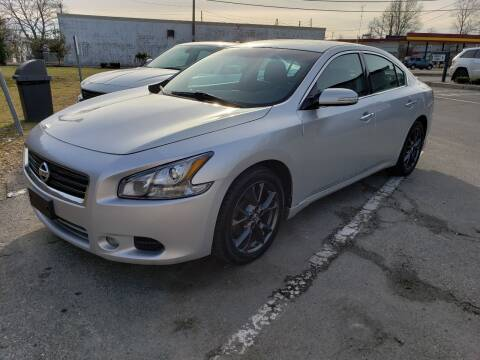 2012 Nissan Maxima for sale at Devaney Auto Sales & Service in East Providence RI