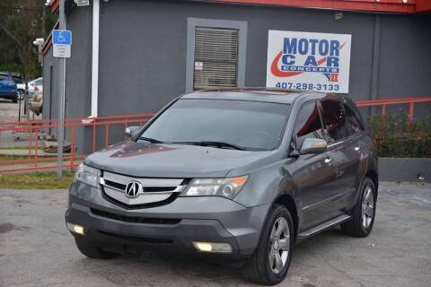 2009 Acura MDX for sale at Motor Car Concepts II - Kirkman Location in Orlando FL