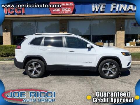 2019 Jeep Cherokee for sale at JOE RICCI AUTOMOTIVE in Clinton Township MI