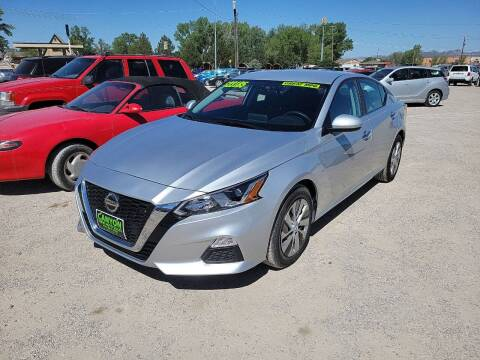 2020 Nissan Altima for sale at Canyon View Auto Sales in Cedar City UT