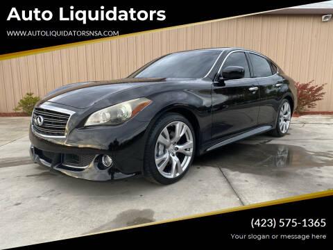 2011 Infiniti M37 for sale at Auto Liquidators in Bluff City TN
