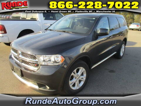 2013 Dodge Durango for sale at Runde Chevrolet in East Dubuque IL