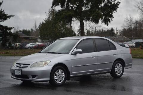 2005 Honda Civic for sale at Skyline Motors Auto Sales in Tacoma WA