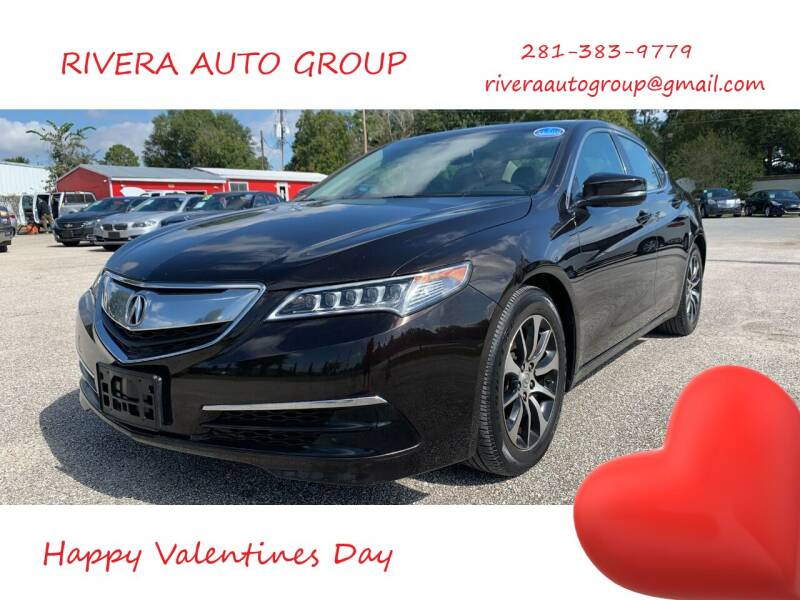 2015 Acura TLX for sale at Rivera Auto Group in Spring TX