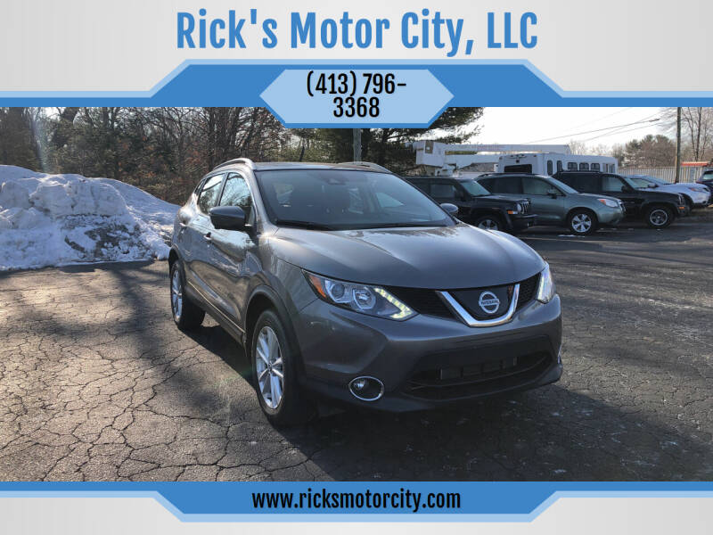 2019 Nissan Rogue Sport for sale at Rick's Motor City, LLC in Springfield MA