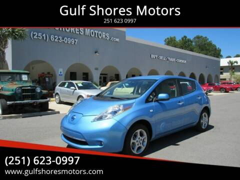 2012 Nissan LEAF for sale at Gulf Shores Motors in Gulf Shores AL