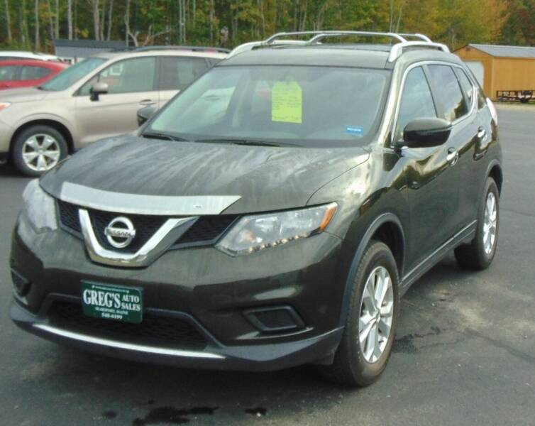 2016 Nissan Rogue for sale at Greg's Auto Sales in Searsport ME