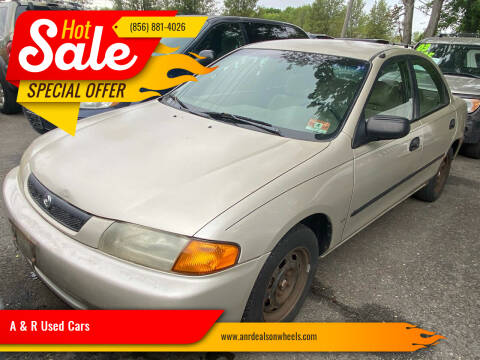1997 Mazda Protege for sale at A & R Used Cars in Clayton NJ