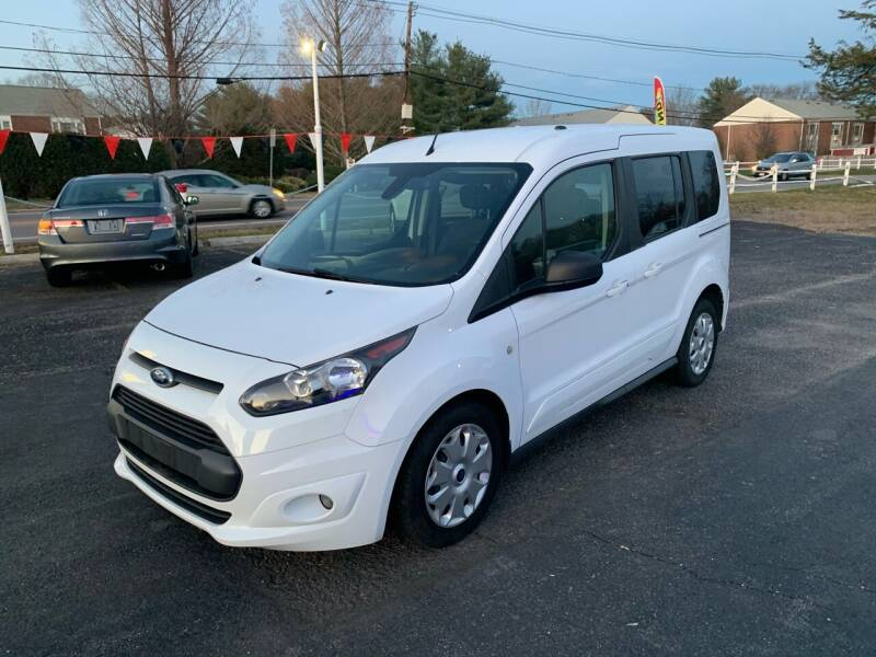 2015 Ford Transit Connect Wagon for sale at Lux Car Sales in South Easton MA