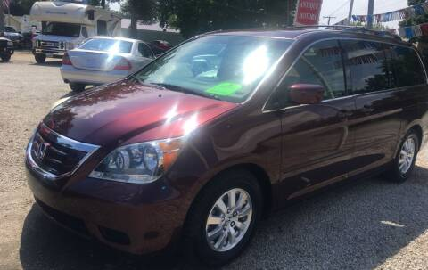 2010 Honda Odyssey for sale at Antique Motors in Plymouth IN