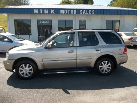 2005 Buick Rainier for sale at MINK MOTOR SALES INC in Galax VA