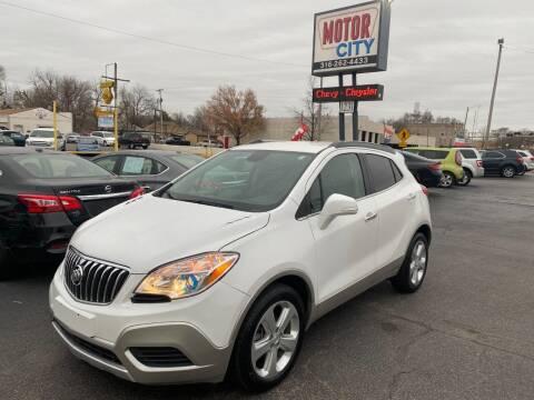 2015 Buick Encore for sale at Motor City Sales in Wichita KS
